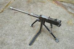 """WWII Ma Deuce BMG 50 caliber Miniature Machine Gun 13.5"""" Desktop Replica"""