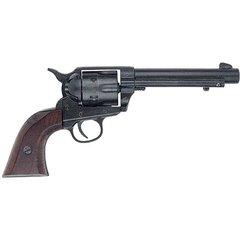 Old West Replica 1873 Army Pistol Black Finish Caps Firing Gun