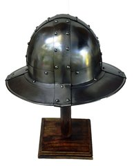 Medieval Kettle Hat Reproduction (War Hat) circa. 950 - 1550 AD