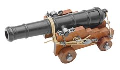 18th Century Civil War Miniature Replica Naval Cannon by Denix