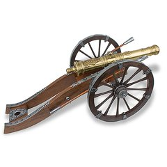 "18th Century French Louis XIV Cannon Large 27"" Miniature Replica"