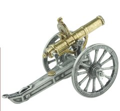 Model 1883 Gatling Gun with Operating Hand Crank & Removable Magazine