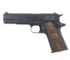 45 Gov't M1911 Automatic Military Pistol with US Grips Non-Firing