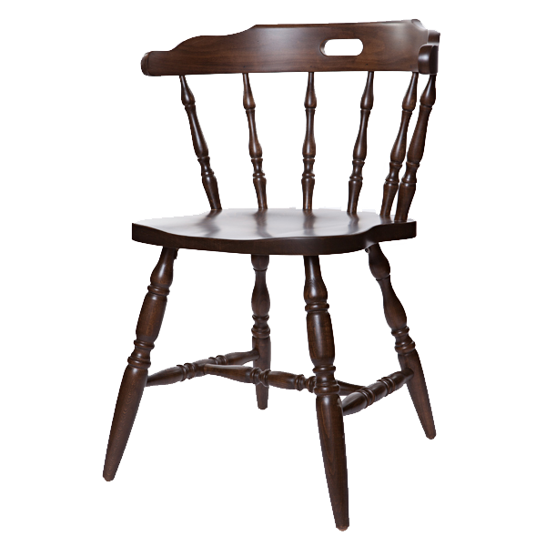 Captain s first mate chair wood frame or upholstered