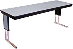 """Seminar Folding Table with Modesty Side Panel 18"""" X 72"""""""