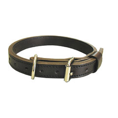 BOSTON LEATHER - CANINE COLLAR 1 , 18 LNG