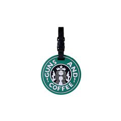 5ive Star Luggage/Bag Tag Guns & Coffee
