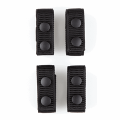 """A-Tac 1"""" Wide Nylon Keepers 4 Pack"""