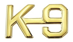 K-9 Uniform Pin 1/2""