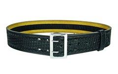 "Air-Tek 2 1/4"" Leather Duty Belt Basket Weave with Velcro"