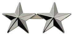 "1/2"" 10 Year Service Stars Nickel"
