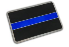 Classic Thin Blue Line Vehicle Decal