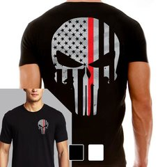 ThinRed Line Punisher T-shirt