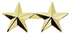 """1/2"""" 10 Year Service Stars Gold"""