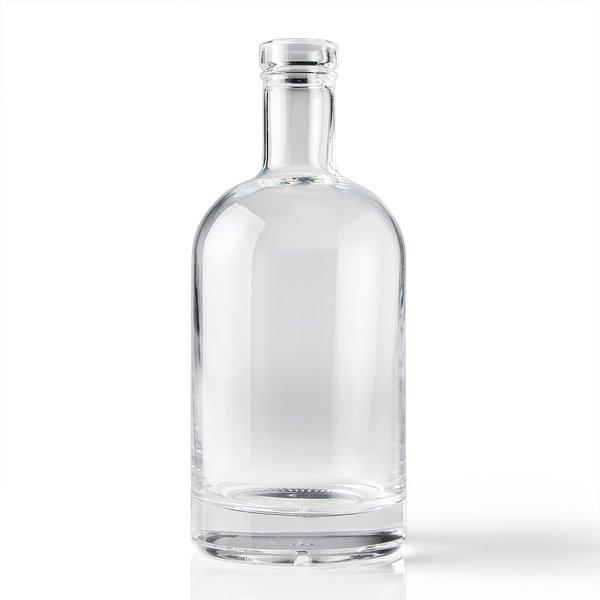 750 Ml Round Clear Glass Liquor Bottle Wholesale Bottles