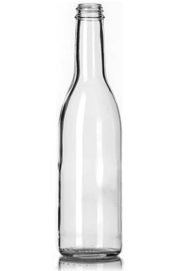 12oz Long Neck Beer Bottles 16ounce Clear Glass Beer