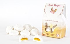 Sweet Whispers Meringues with Passion Fruit Filling