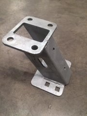 Galvanized Spare Tire Carrier (I-Beam trailers only)