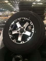 "15"" Aluminum Wheel and Tire"