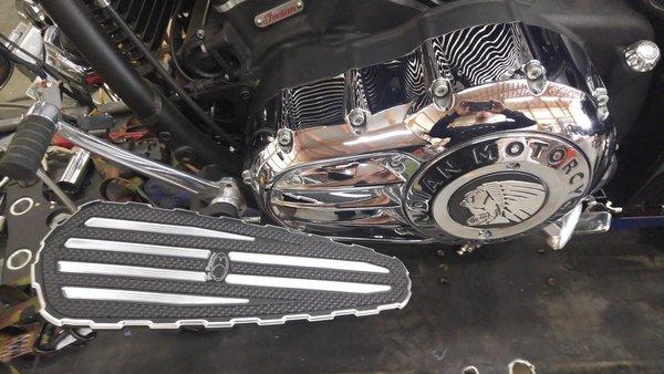 Indian Motorcycle Floorboards Chief Chieftain Dark Horse