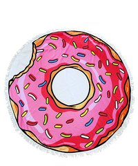 Donut Sand Circle Beach Towel