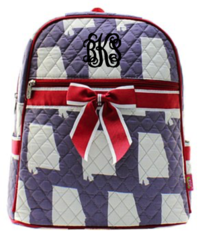 Alabama Quilted Large Backpack