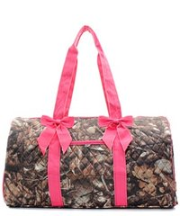 Natural Camo Quilted Duffel Bag