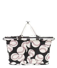 Baseball Insulated Market Tote with Lid