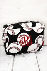 Baseball Cosmetic Bag