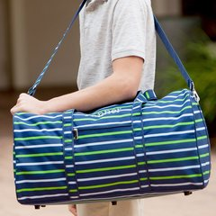 Shoreline Stripe Duffel Bag