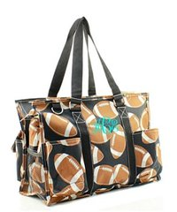 Football Small Utility Tote