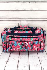 """Lively Lobsters 23"""" Duffel Bag"""