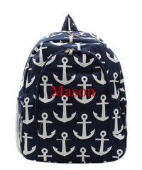 Anchors Away Large Backpack