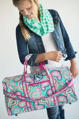 Patterned Duffel Bag