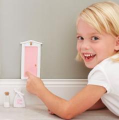 Pink Tooth Fairy Door Gift Set