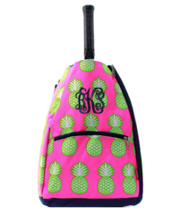 Pineapple Party Tennis Racket Bag