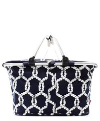 Anchor Rope Insulated Market Tote with Lid