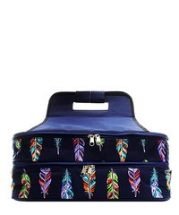 Fancy Feathers Insulated Double Casserole Tote