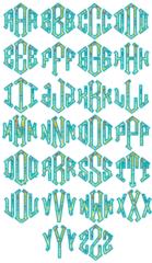 Diamond Appliqué Monogram