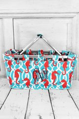 Hold Your Seahorses Market Tote