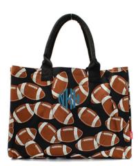 Football Wide Tote Bag