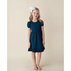 Girls Ruffle Short Sleeve Dress