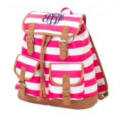 Sawyer Striped Campus Backpack