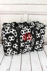 Soccer Collapsible Haul-It-All Basket with Lid