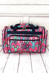 """Lively Lobsters 20"""" Duffel Bag"""
