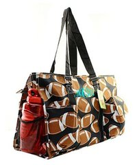 Football Large Organizer Tote