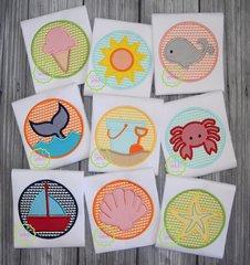 Summer Circles Appliqué Designs
