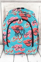 Flip Flop Fun Large Backpack
