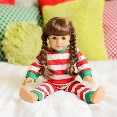 Classic Christmas Doll Pajamas PRE-ORDER