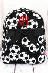 Soccer Quilted Large Backpack